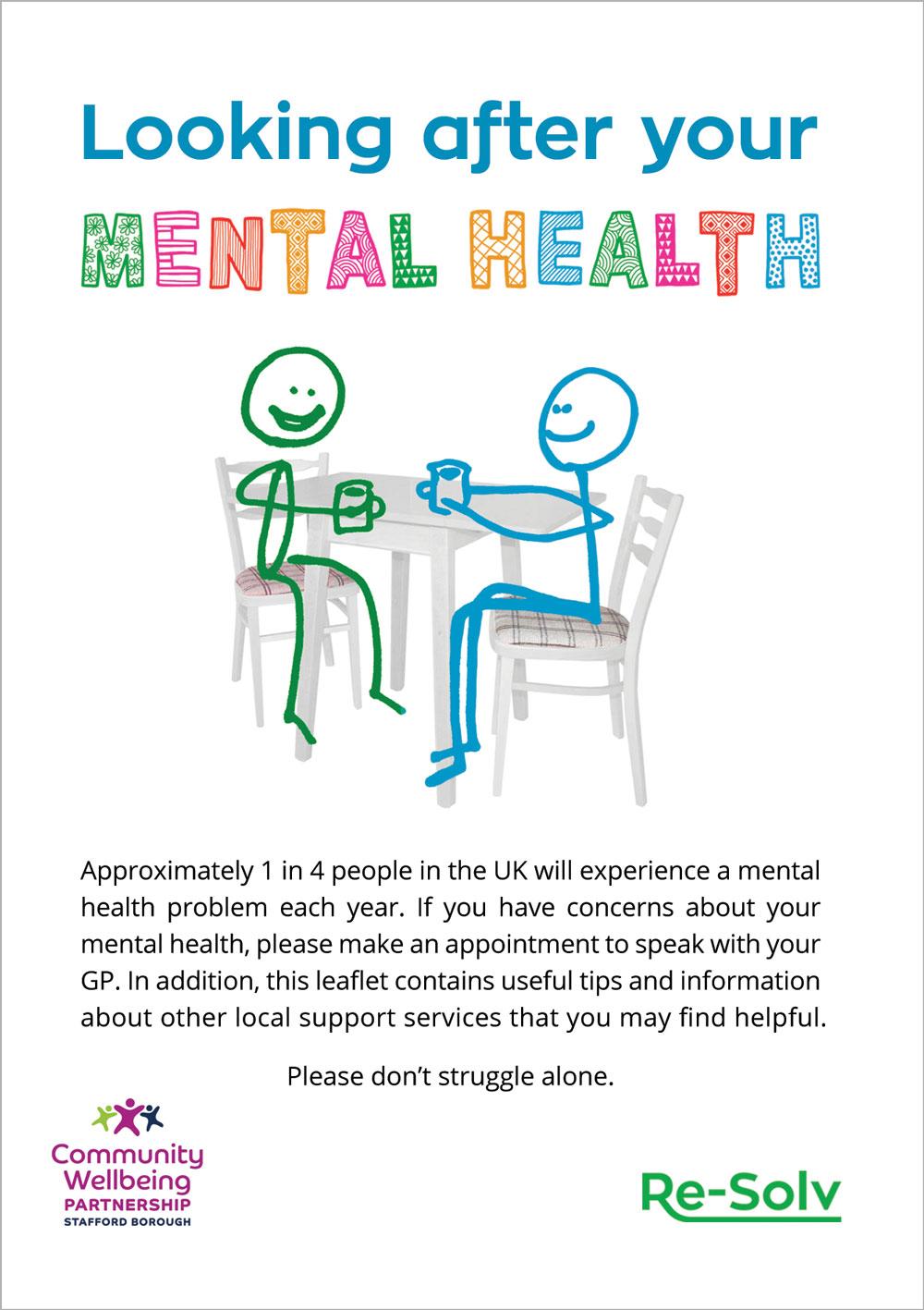 mental health leaflet link
